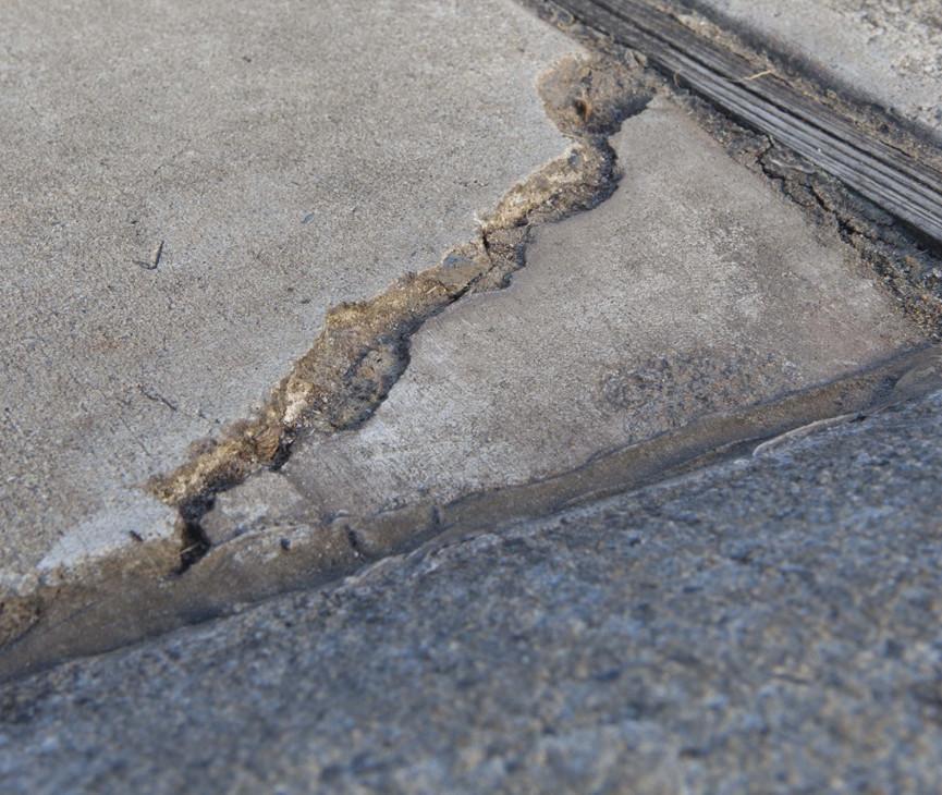 Concrete Sidewalk repair NYC Image