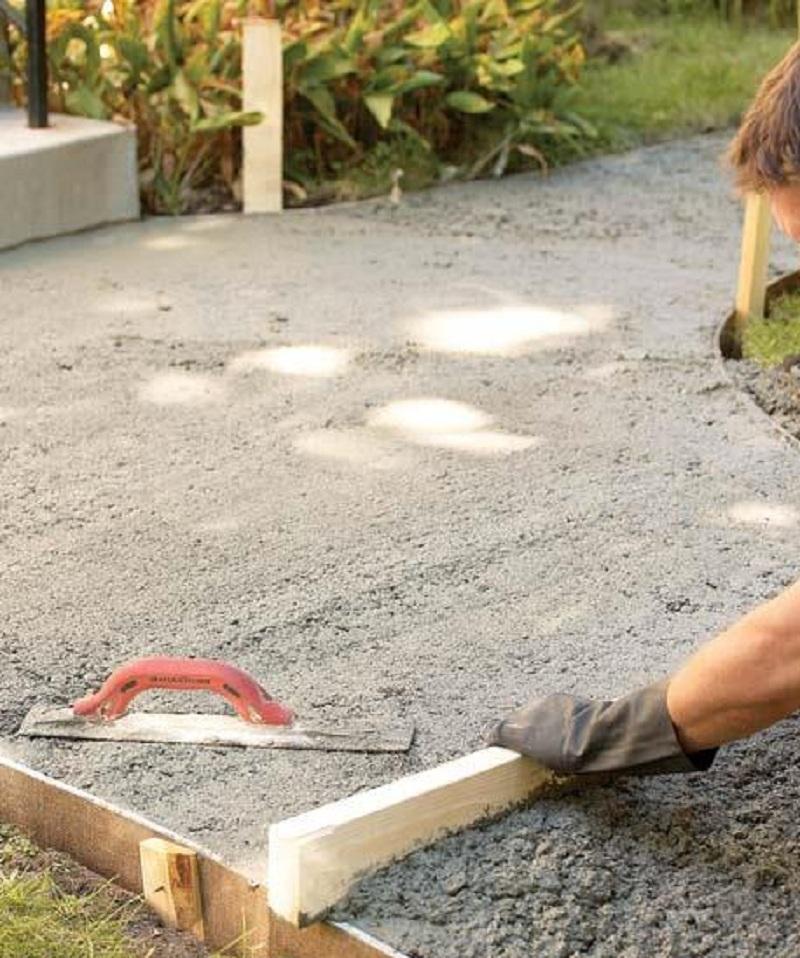 cement sidewalk ideas image