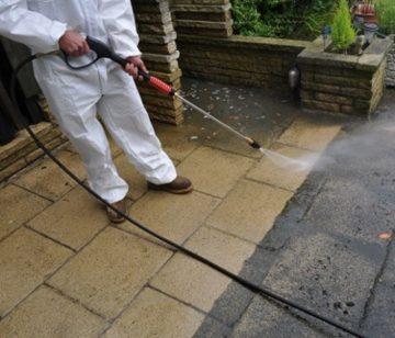 how to clean sidewalks Image